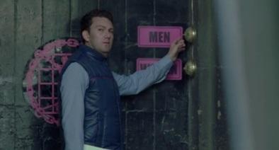 Director Stuart Urban's electrifying cameo