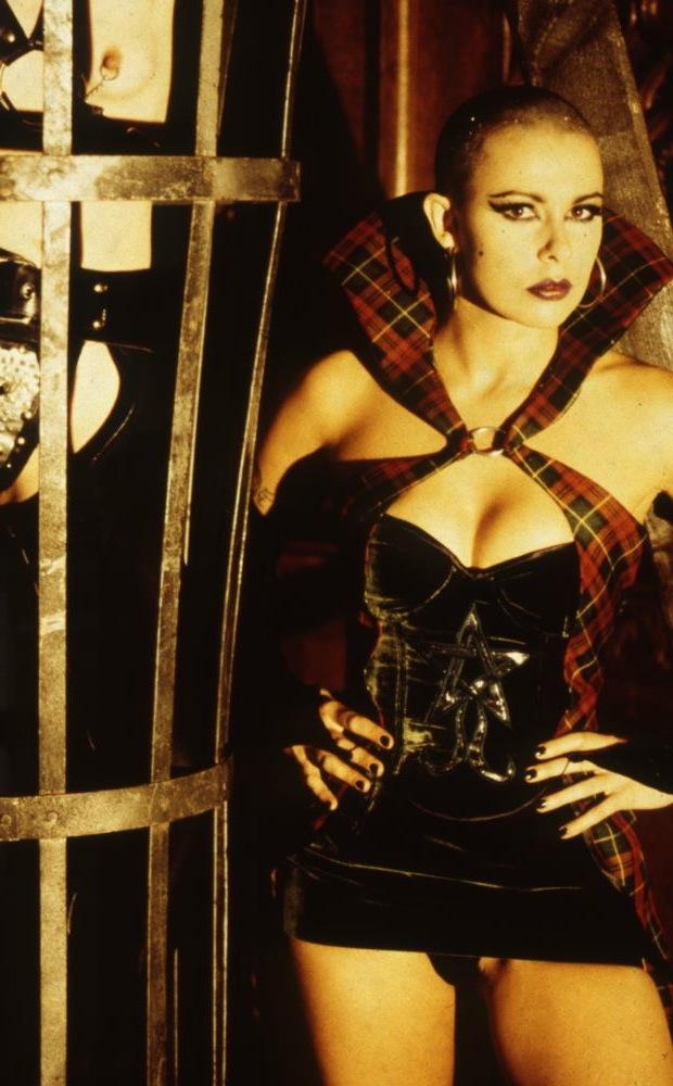 Julie Graham looking badass as Eugenie