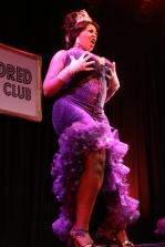 Violet Blaze performs - Photo by Rhian Cox