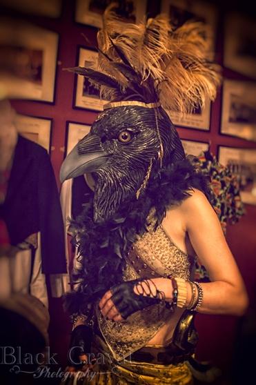 Bird by Black Cravat